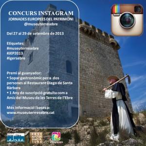 Concurs: Museu de les Terres de l'Ebre i XARXA EBRE NATURA & CULTURA  Jornades Europees del Patrimoni 2013