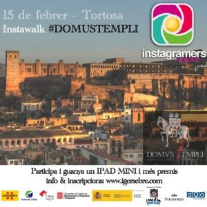 15 de febrer de 2014 - Instawalk Domus Templi - Tortosa