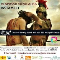 INSTAMEET #LaPassioDeVilalba  –  Dissabte Sant 19 d'abril