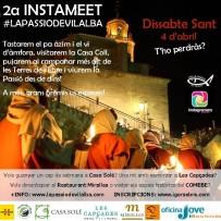 Dissabte 4 d'abril de 2015 a Vilalba dels Arcs – Instameet La Passio de Vilalba
