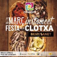 Diumenge 12 de març Instameet 14a FESTA DE LA CLOTXA a BENISSANET