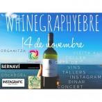 WinegraphyEbre, 14 de Novembre a Villalba dels Arcs: Vi, fotografia, gastronomía i música!