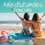 Concurs #ALestiuTuMoles amb restaurant Les Moles